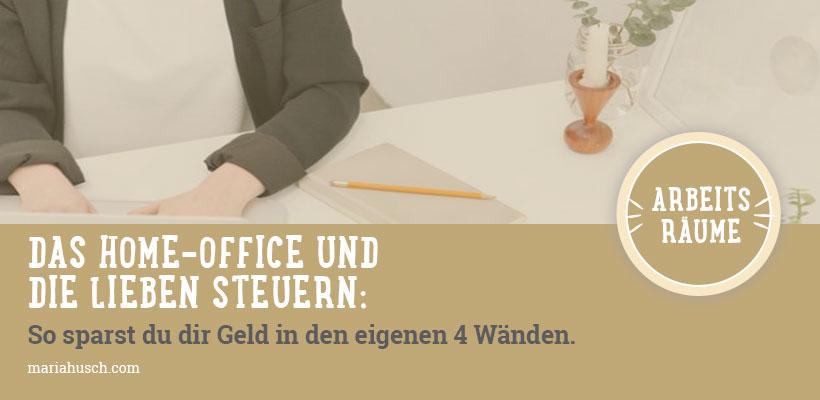 Das Home Office Die Lieben Steuern So Sparst Du Geld In Den