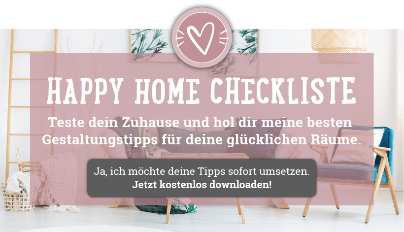 Die Happy Home Checkliste