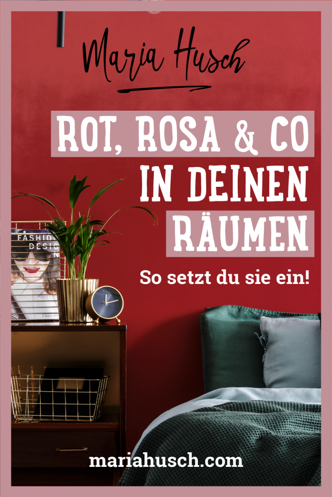 Raumtalk Rot Pinterest