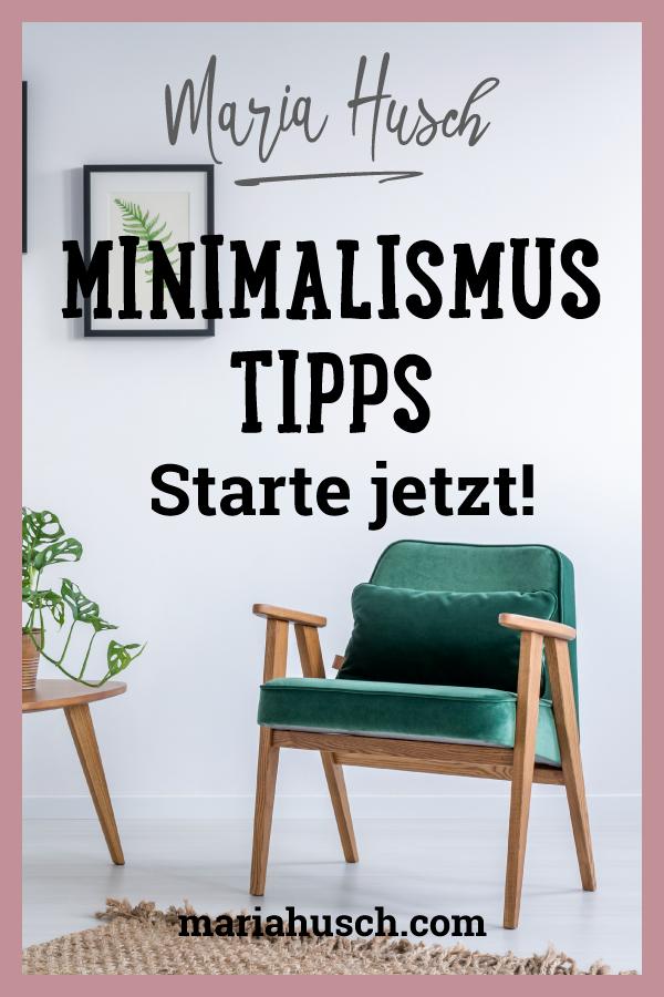 Minimalismus Tipps 06