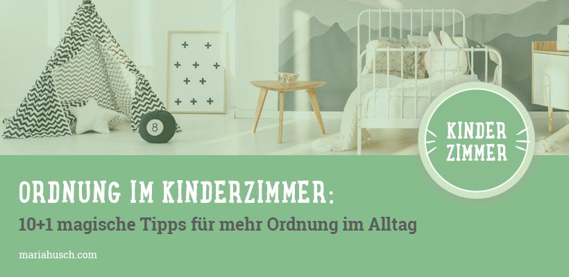Ordnung-Kinderzimmer