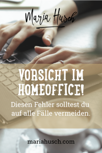 Raumtalk164 Homeoffice Fehler Pinterest
